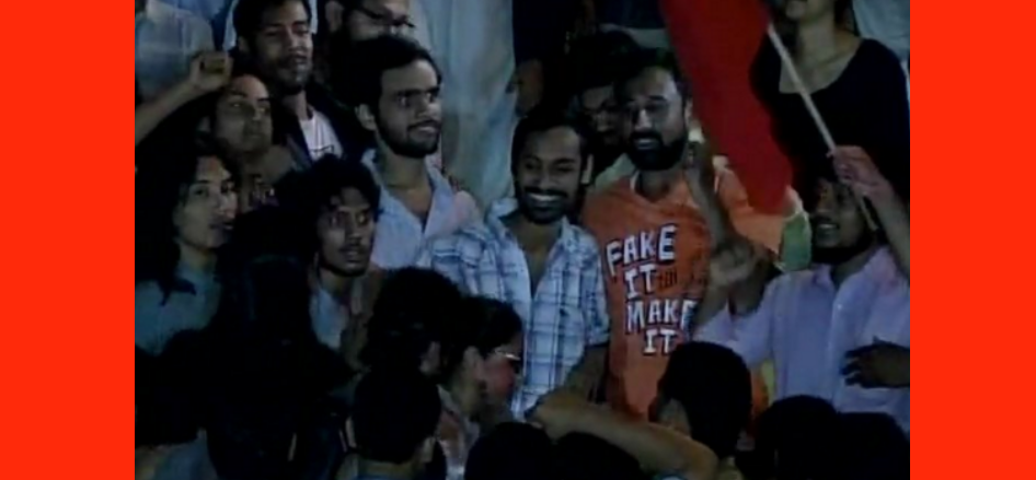 JNU controversy : action postpond against Umar and Anirban