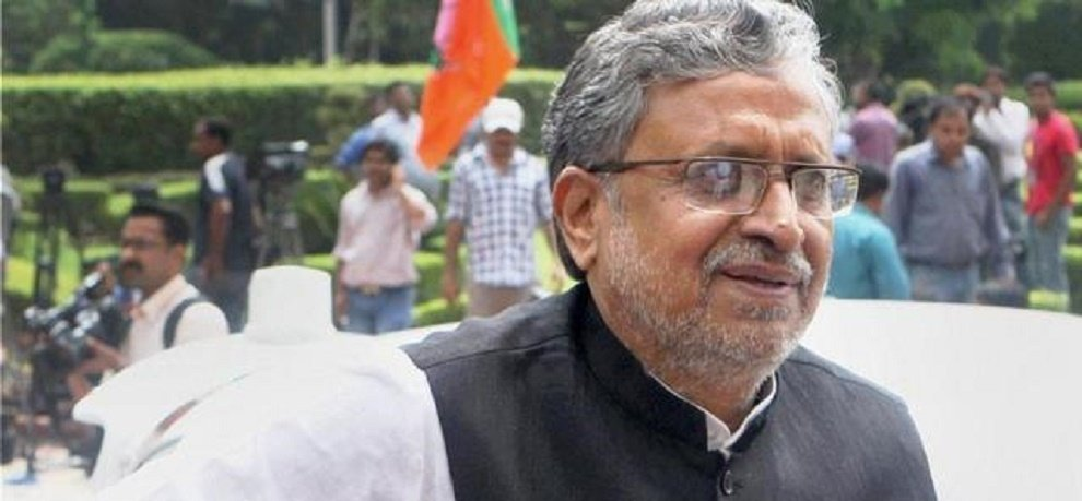 Sushil Modi said I am in favor of reservation in private sector yet not decided at party level