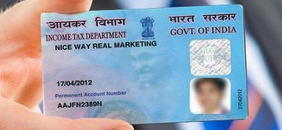 Income tax department issuing new pan card with added security features