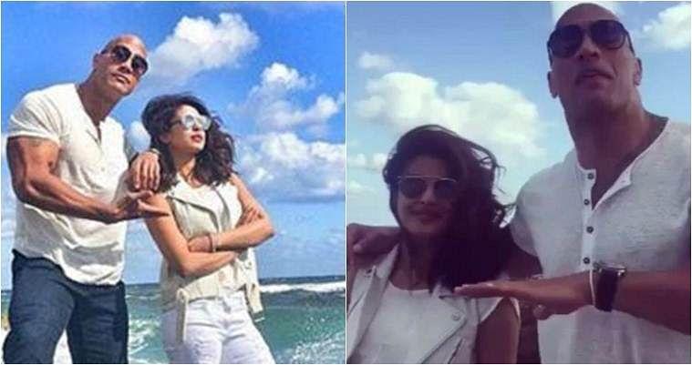 Priyanka Chopra dating Dwayne Johnson