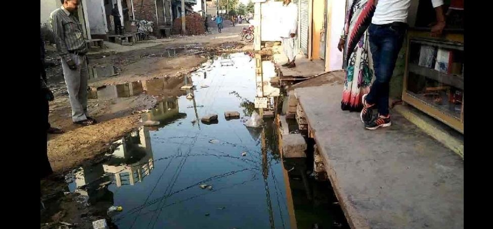choke sewer becoming problem for residents in palwal