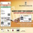 uproar in both Houses for Aadhaar mandatory