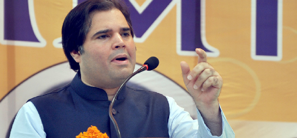 no place for varun gandhi in BJP's star campaigner list.