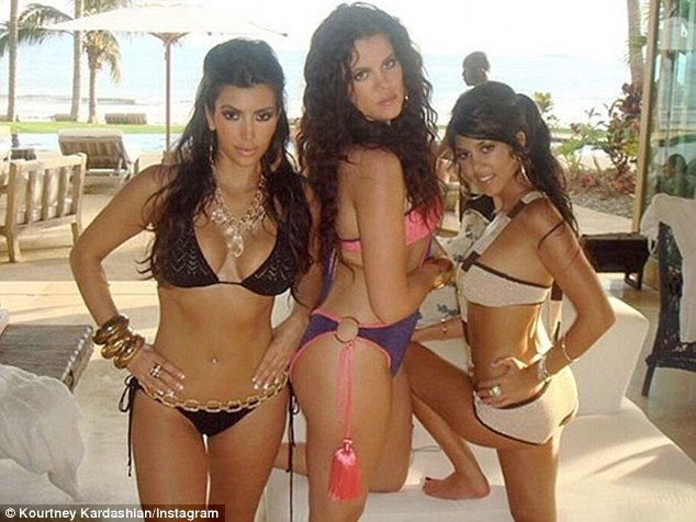 Kim kardashian shares years old photos in bikini