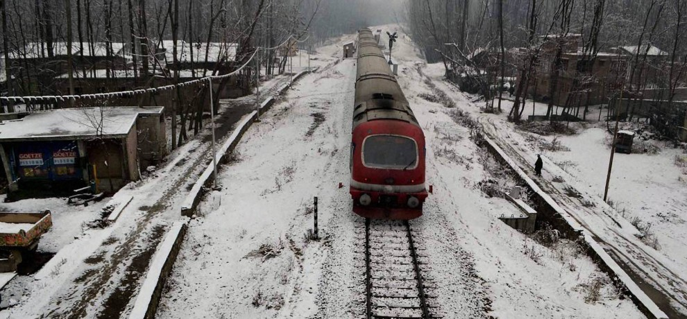 Kashmir rail link project cost was hiked