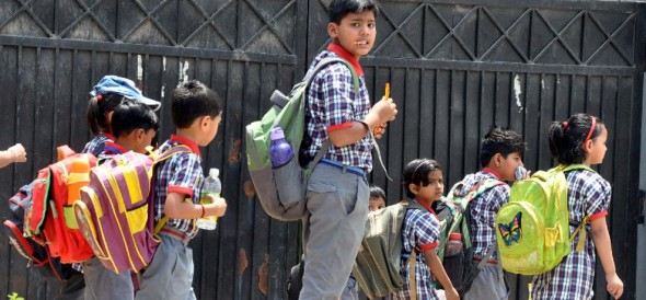 school bags weight will be reduced from kids soon