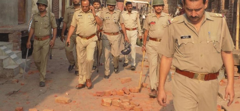again clash in hathras, three injured