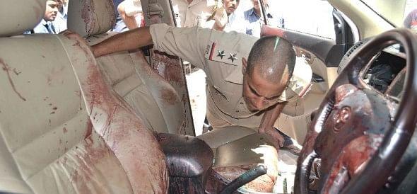 Himachal news ,fazilkas rocky killed ,gangwar ,shimla kalka highway,पुलिस सिक्योरिटी,बीच पंजाब,नेता,दिनदहाड़े मारी,गोली