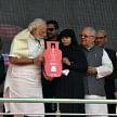 PM Narendra Modi launches Pradhan Mantri Ujjwala Yojana in Ballia.