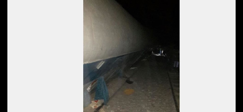 The mother and daughter died being hit by train