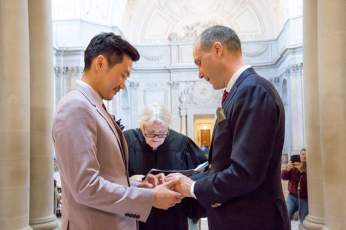 A U.S. Diplomat Married His Chinese Boyfriend And It Was Adorable