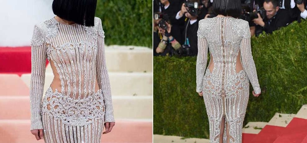 Kylie Jenner's Met gala 2016 gown made her legs bleed