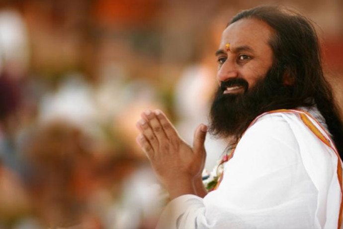 SRI SRI RAVISHANKAR VISITS AYODHYA, HOLDS MEETING ON RAM JANM BHOOMI ISSUE