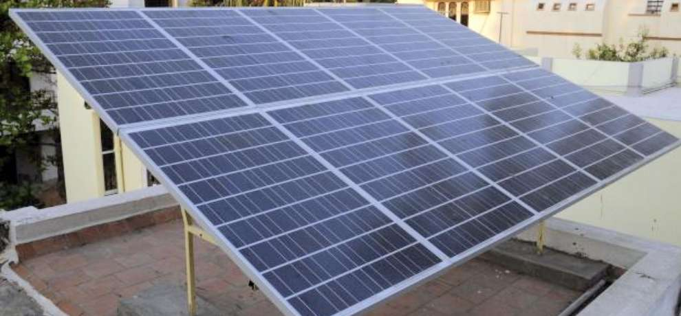 solar energy project for electrification in 310 middle schools of himachal