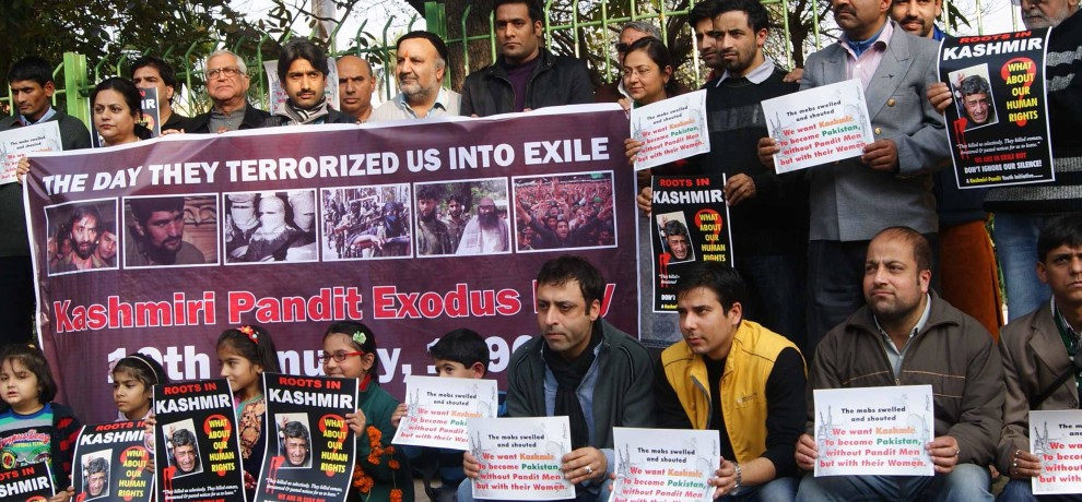 kashmiri pandit tell their story, says let us live at one place