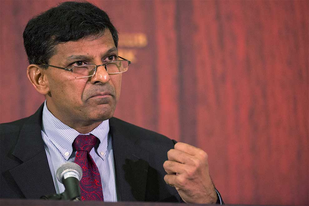 can't compare between the gdp of india and china, says raghuram rajan
