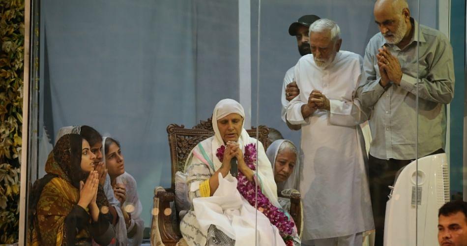 First Statement Of Nirankari Mission New Head Mata Savinder