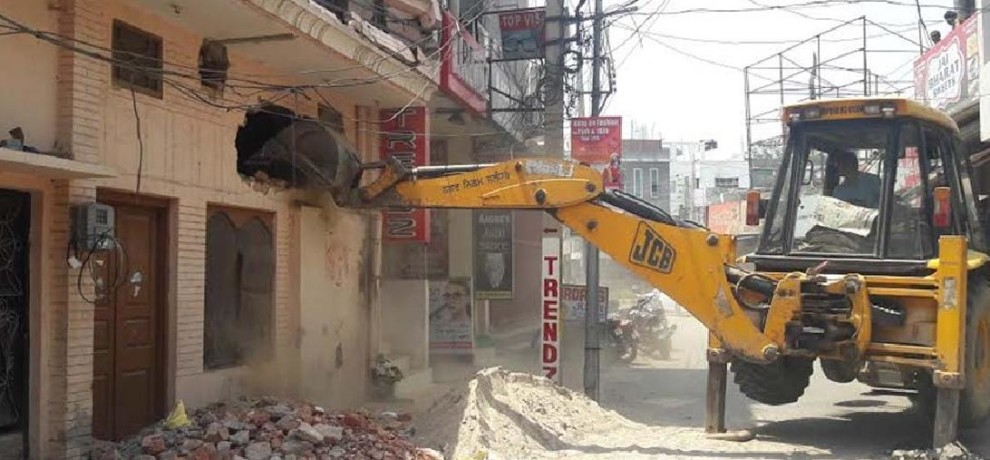 Suspended revenue supervisor involved in illegal construction