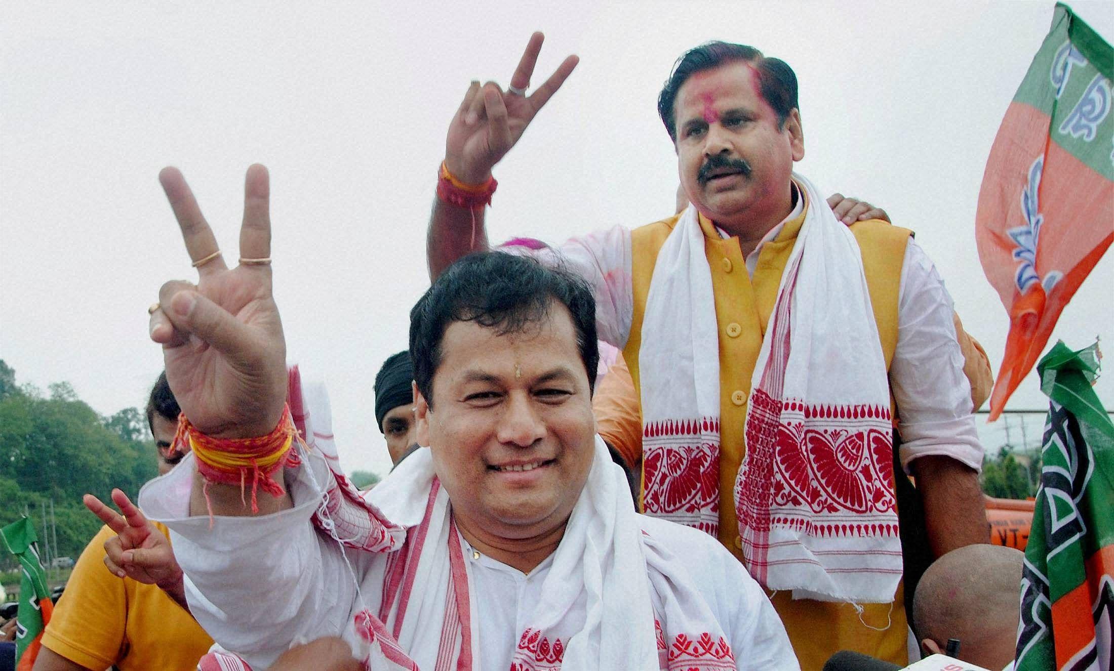 Hemant Vishwa Sharma Will Be Deputy Cm Of Assam! - असम में सोनोवाल का साथ  देने के लिए हेमंत विश्व शर्मा को डिप्टी सीएम बनाएगी बीजेपी - Amar Ujala  Hindi News Live
