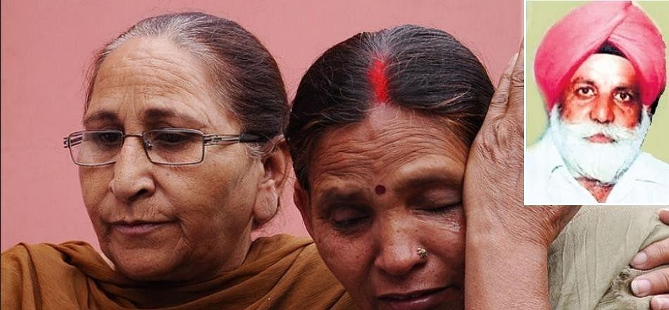 sarbjit singh sister dalbir kaur husband baldev singh died in jail in haridwar