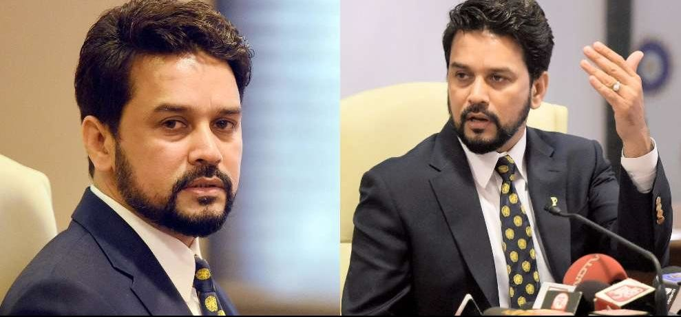 The SC granted relief to former BCCI president Anurag Thakur