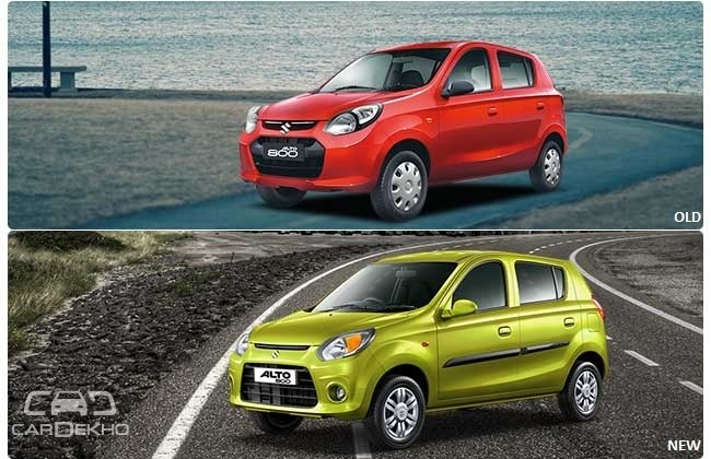 Alto 800 Facelift Vs old Alto 800: What's Changed?