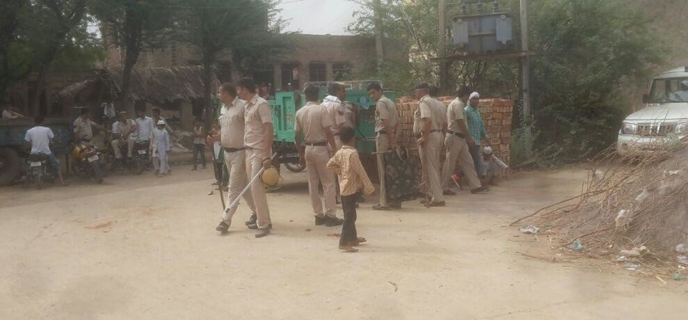 4 shot dead in palwal after clash between two gangs for molesting girl