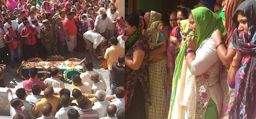 shaheed mahesh gurung last farewell.