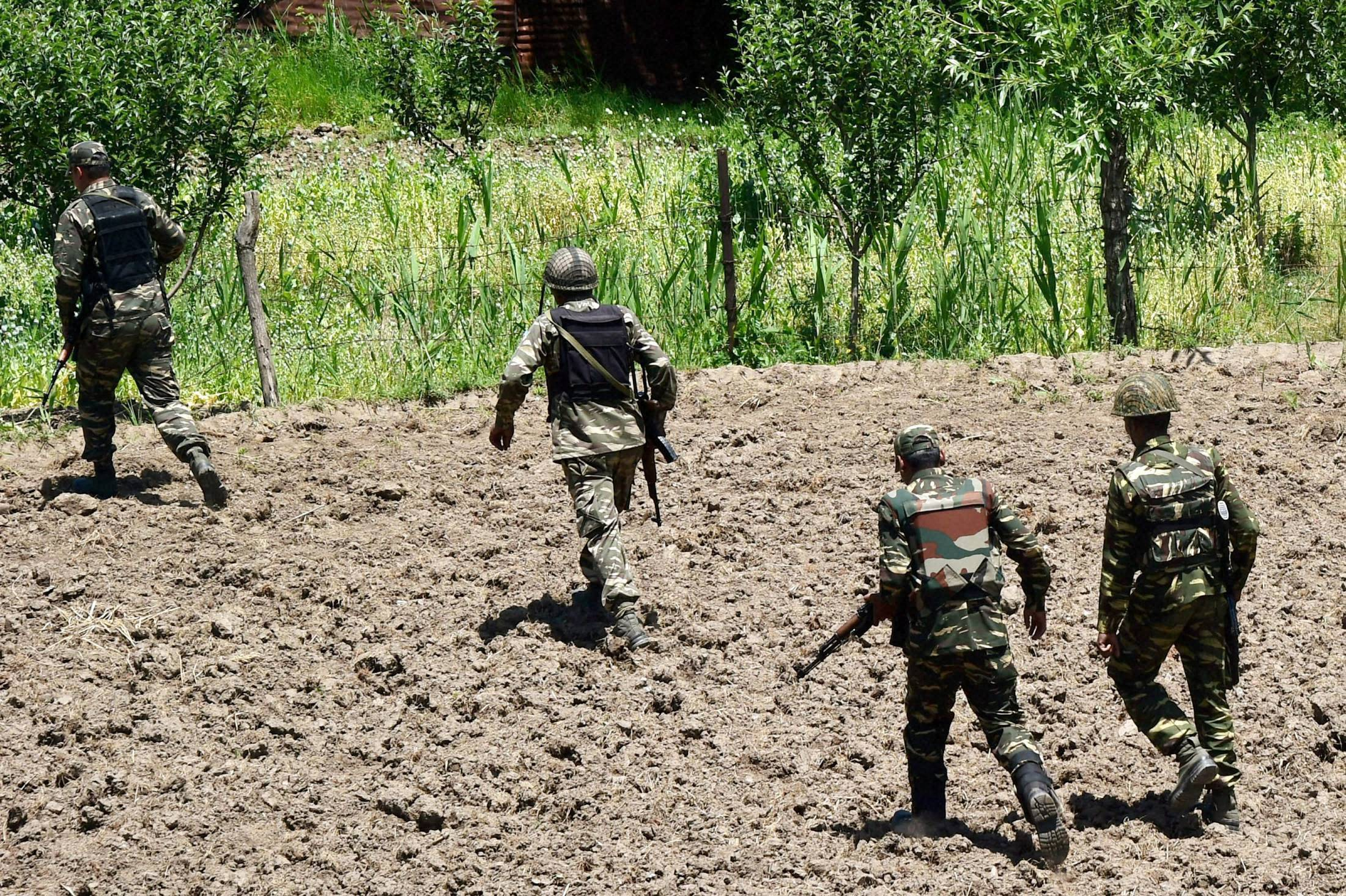 Pakistan product pharmaceutical and food recovered in kupwara