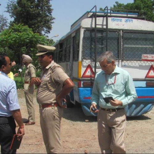 explosion in roadways bus in pipli: NIA and IB team find clues