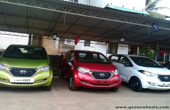 Datsun redi-GO Reaches Dealerships
