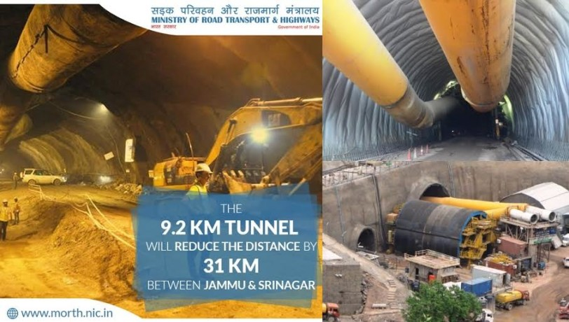asia's longest highway tunnel