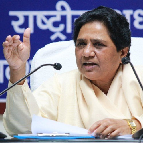 mayawati speaks on metro trial.