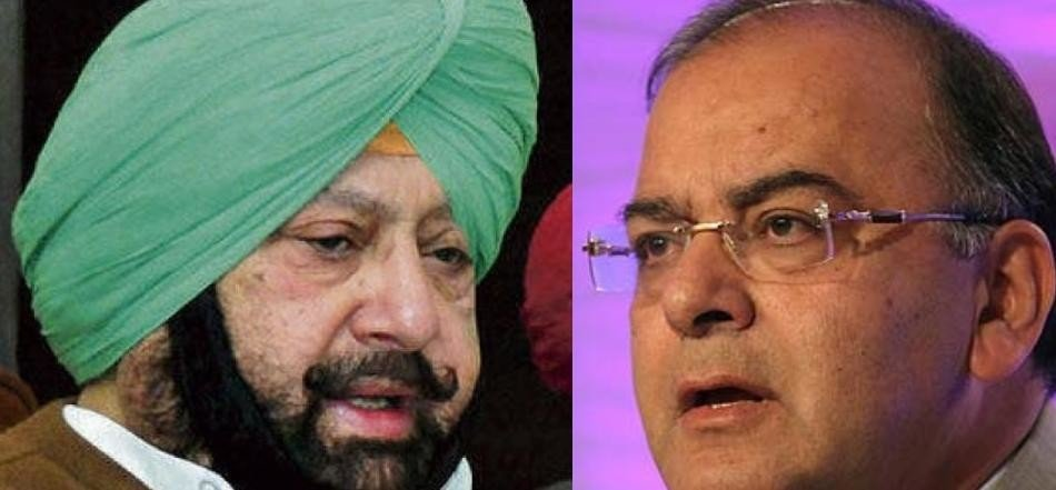 Captain amarinder singh challenge to arun jetly