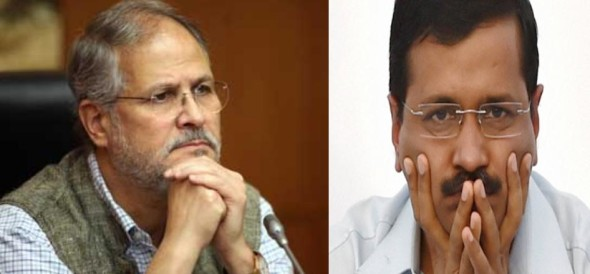 kejriwal accused lg that to become the Vice-President, Najeeb Jung has sold his soul to Modi