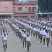 rashtriya swayamsevak sangh targets Kairana and Muzaffarnagar riots in concern of up election 2017