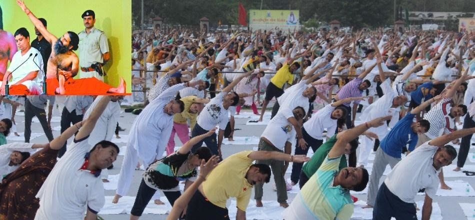 Latest Baba Ramdev National Yoga Day Photos for free download