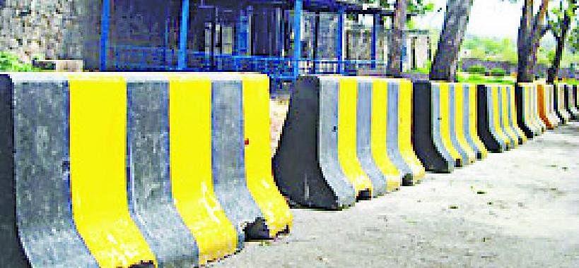 Barrier will be established at TP Nagar