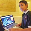 9-year-old CEO-cum-cyberexpert Reuben Paul