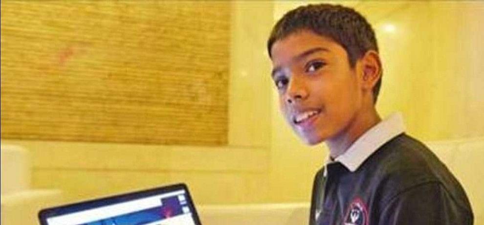 9-year-old CEO-cum-cyberexpert Reuben Paul