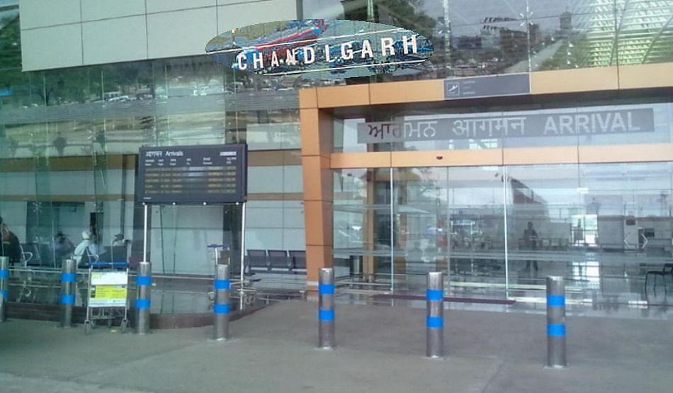 चंडीगढ़ः इंटरनेशनल एयरपोर्ट का ड्रेनेज ब्लॉक, हो सकता है बड़ा हादसा