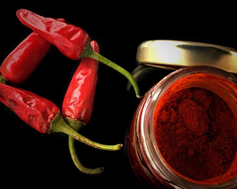 health secret of red chilli