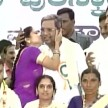 Viral Video: Woman kisses CM Siddharamaiya on the stage, says don't misunderstand