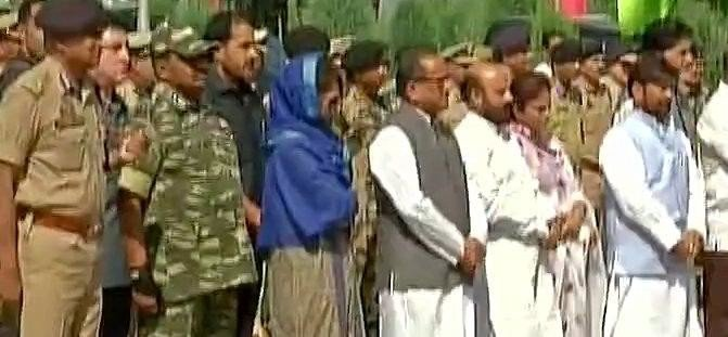 mehbooba Mufti pays homage to CRPF jawans who lost their lives in Pampore terror attack