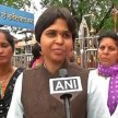 Trupti Desai seek blessings ahead of verdict on Haji Ali Dargah no-entry case