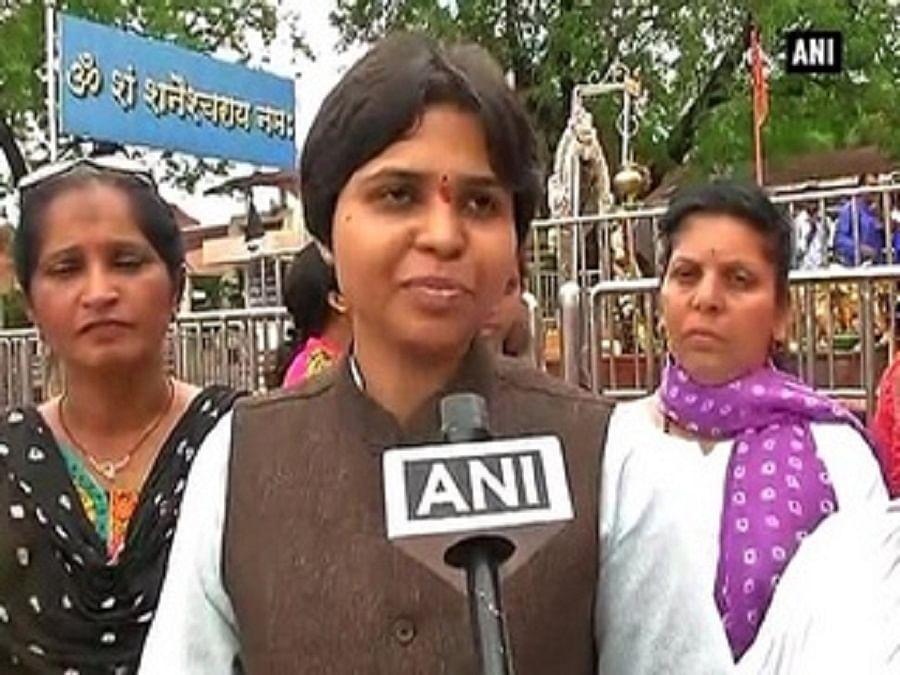 17 नवंबर को सबरीमाला मंदिर मेकरूंगी प्रवेश,CM से मांगी सुरक्षा:तृप्ति