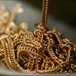 Labourers found Gold jewelry during desilting tank in vellore