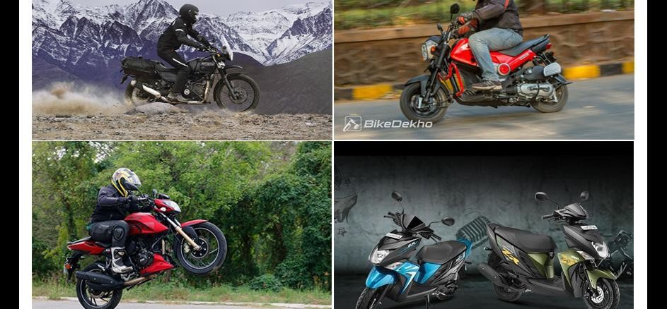 5 Most Popular Bike Launches Of 2016