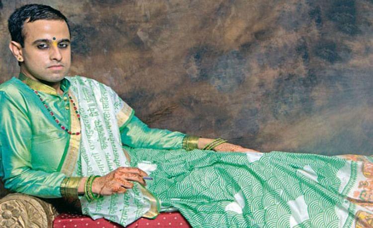 The Saree Man of India