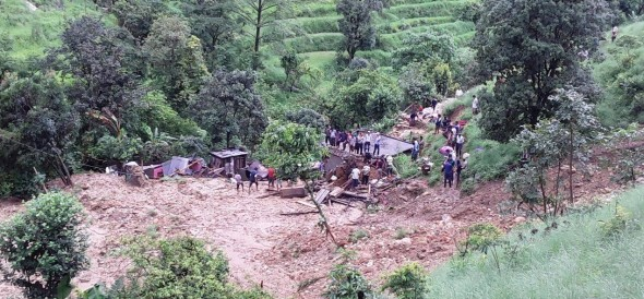 big flood due to heavy rain in uttarakhand